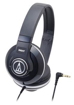 audio-technica 鐵三角 ATH-S500【黑BK】街頭DJ風格可折疊式頭戴耳機 耳罩式