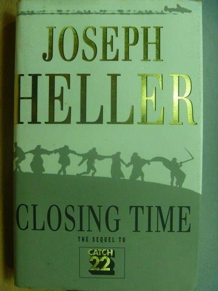 【書寶二手書T8/原文小說_MQW】Closing Time_Joseph Heller