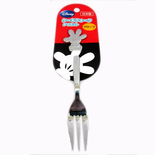 【真愛日本】15090400010造型不鏽鋼叉子小-MK手迪士尼 米老鼠米奇 米妮 叉子 水果叉 食器 餐具