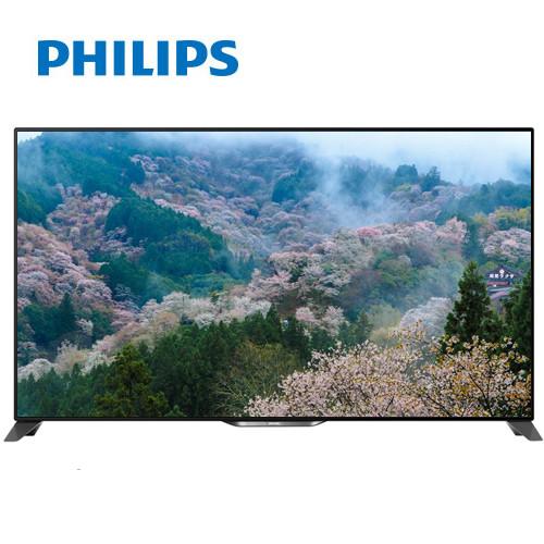 PHILIPS飛利浦 65吋 3D+4K2K UHD高解析智慧型液晶顯示器+視訊盒 65PUH9009