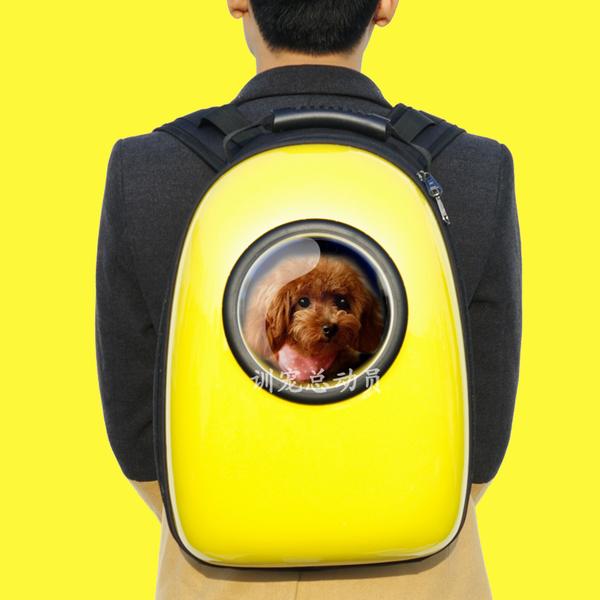 ((現貨))歐美潮流!!!范冰冰愛用款!!! 寵物太空艙背包 寵物外出提籠 貓 狗 外出背包 寵物後背包 提籃 提袋 運輸籠 寵物背包 背袋獨家贈送寵物冰涼墊