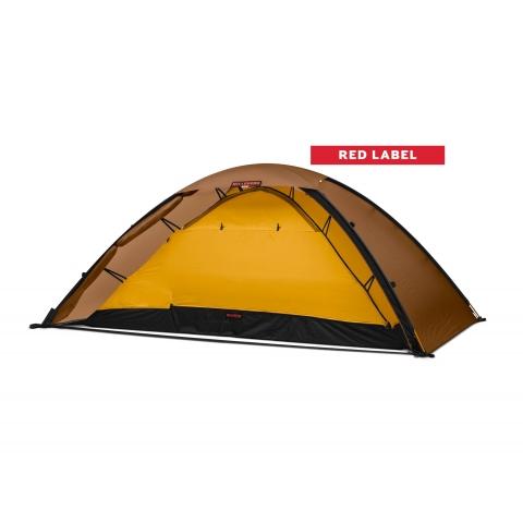 ├登山樂┤瑞典HILLEBERG  紅標 UNNA 溫拿 輕量一人帳篷 沙棕 #012813