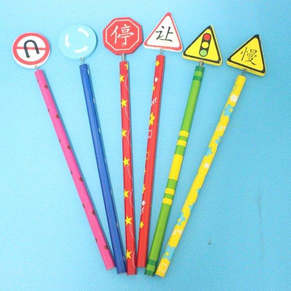 平板造型鉛筆 木製鉛筆 木鉛筆 公仔鉛筆 手工鉛筆(多樣混款)/一包12支入{促10}~865502
