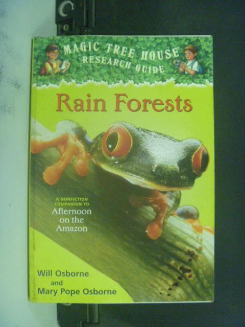 【書寶二手書T1/兒童文學_KHO】Rain Forests_Osborne, Mary Pope