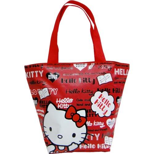 Hello Kitty 餃型便當袋-大