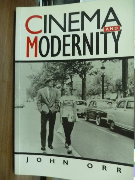 【書寶二手書T8/原文書_QGJ】Cinema and Modernity_Orr