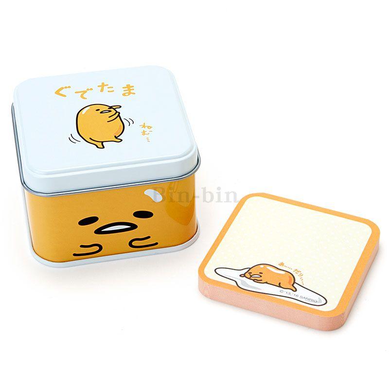 蛋黃哥 鐵盒便條紙/N-1602-672629