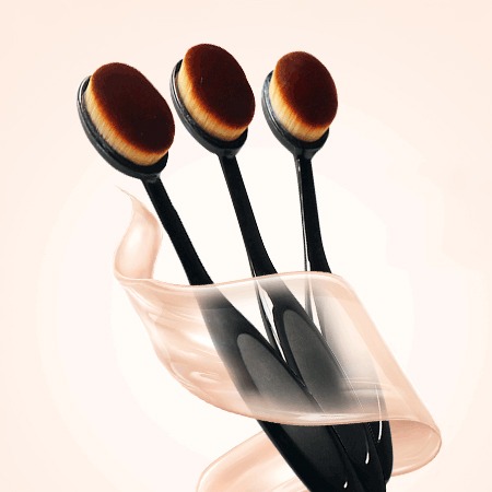 牙刷型粉底刷(單支入) 超柔軟細密刷毛 化妝刷具【N201911】