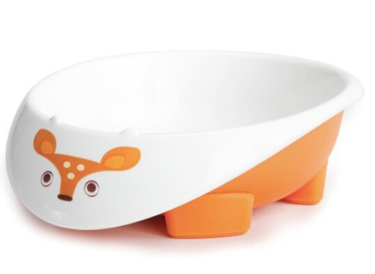 美國MyNatural Eco Feeding餐具系列-Orange Deer鮮橙橘小鹿餐碗