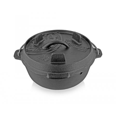 【露營趣】中和 德國 Petromax FT3-T Dutch Oven  鑄鐵鍋 荷蘭鍋 8吋