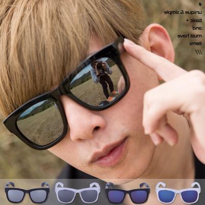 ∥柒零年代∥Sporty【N8458J】韓系潮流G-dragon個性風格鏡面反射粗匡墨鏡(03)