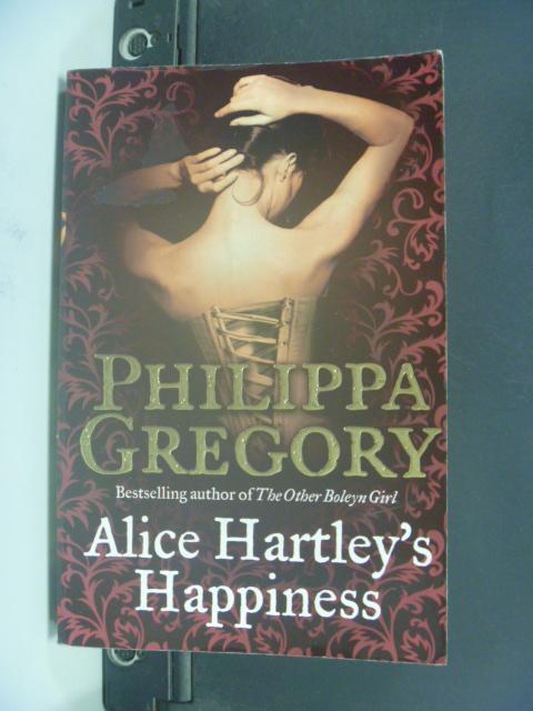 【書寶二手書T5/原文小說_HOT】ALICE HARTLEYS HAPPINESS