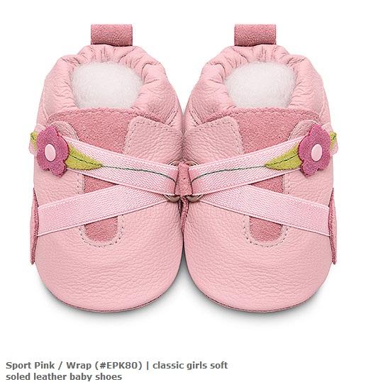 【HELLA 媽咪寶貝】英國 shooshoos 安全無毒真皮手工鞋/學步鞋/嬰兒鞋_優雅花園小花 (公司貨)