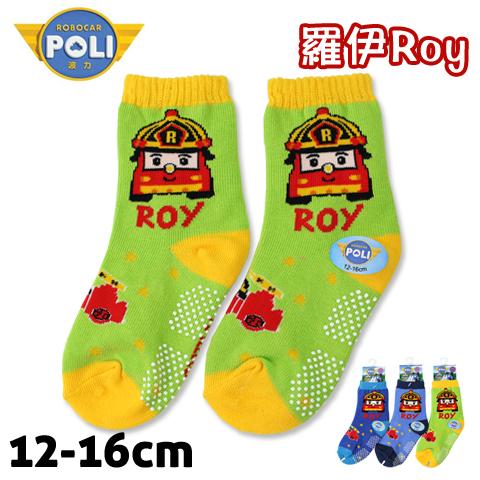 【esoxshop】止滑童襪 救援小英雄波力 羅伊 消防車款 PL-S2203B 台灣製 POLI