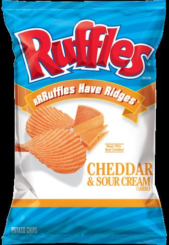 美國進口 Ruffles 厚切波樂洋芋片-起士口味184.2g