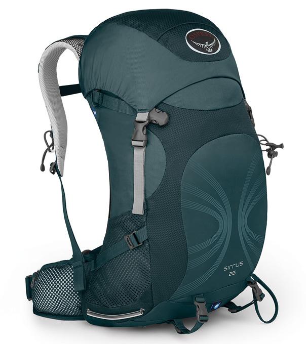Osprey |美國|  SIRRUS 26 登山背包《女款》/自助旅行背包 健行背包 運動背包-灰XS/S/Sirrus26 【容量26L】
