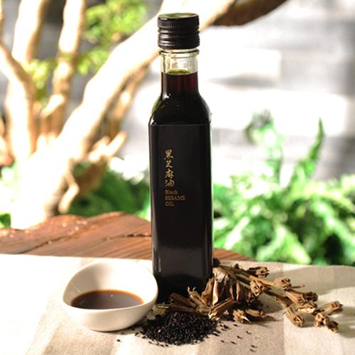 【九品元】特選冷壓黑芝麻油(250ml/瓶)x 1瓶