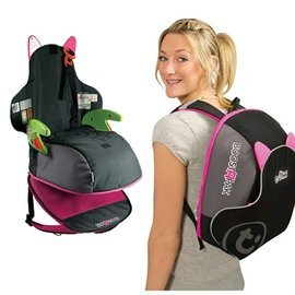 【淘氣寶寶】英國Trunki BoostApak ☆兒童專用增高椅背包(汽車安全座椅與背包)(粉)【保證原廠公司貨】