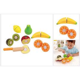 【淘氣寶寶】 德國Hape愛傑卡 角色扮演廚房系列 - 主廚水果組