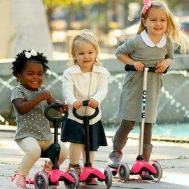 【淘氣寶寶】瑞士 Micro Mini 3 in1:適合1~ 5歲_三合一兒童滑板車【是滑步車、也是滑板車】