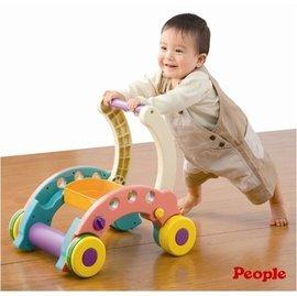 【淘氣寶寶】日本 People 折疊式簡易學步車【親子討論區熱烈反應推薦】
