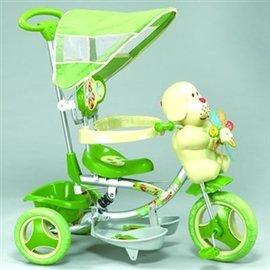 【淘氣寶寶】【CHING-CHING親親】風車小狗三輪車-綠 XG3403BPA-028