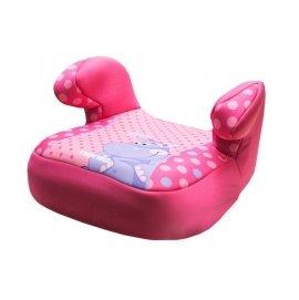 【淘氣寶寶】2016年最新 法國原裝 納尼亞Nania 輔助墊 增高墊 安全座椅*河馬粉FB00216【保證原廠公司貨】