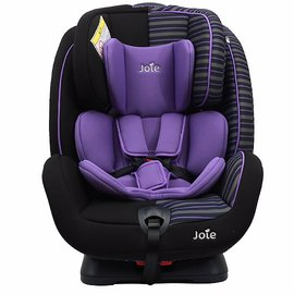 【淘氣寶寶】奇哥 joie 0-7豪華成長型雙向汽座-條紋紫