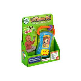 【淘氣寶寶】 美國 LeapFrog 跳跳蛙-幼兒專用手機【全英語益智教育玩具】【公司貨】