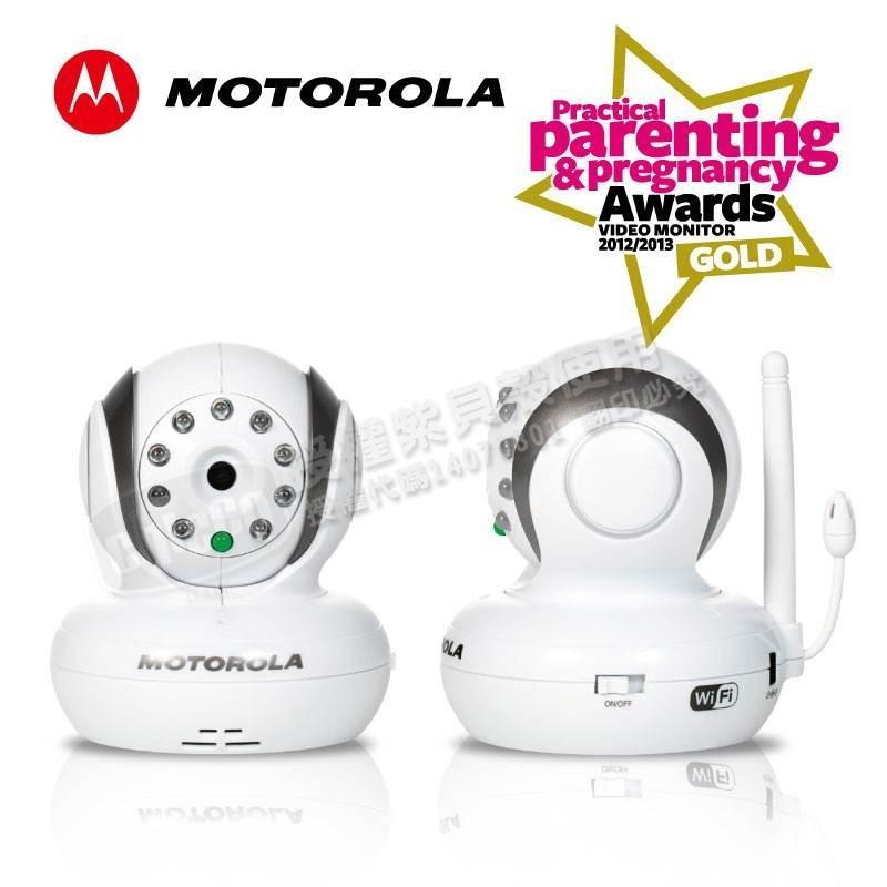【淘氣寶寶】Motorola WiFi行動網路監視器-BLINK1【原廠保固1年】幼童照護/寵物監看/居家安全/關懷長者