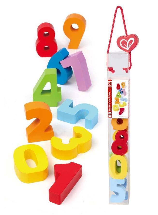 【淘氣寶寶】德國Hape愛傑卡 拼圖系列-快樂積木組-數字.生活認知.1歲以上.