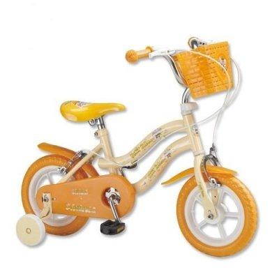 【淘氣寶寶】【CHING-CHING親親】12吋 河馬腳踏車(黃澄色) QW1250Y