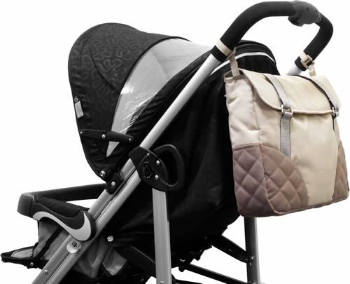 【淘氣寶寶便宜出清】Zooper 媽媽包 搭配嬰兒車專用的特別設計