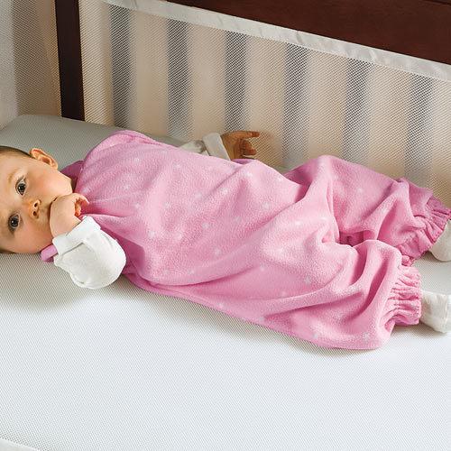 【淘氣寶寶】Summer 嬰幼兒防踢被保暖睡袍/露腳刷毛絨布 18m-24m)