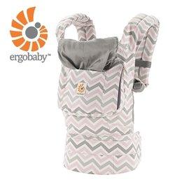 【淘氣寶寶】美國Ergo Baby ergobaby Carrier爾哥寶寶揹帶/揹巾(原創*粉紋) 【贈美國製醫療香草奶嘴3顆】