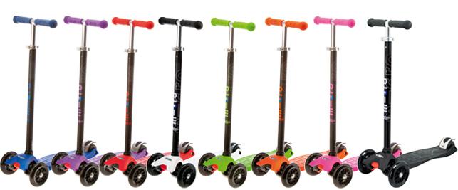 【淘氣寶寶】Micro Maxi T-bar (大小孩的滑板車) 5~12歲 來自於瑞士 世界第一大品牌滑板車