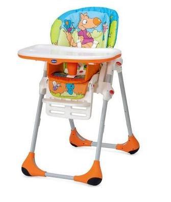 【淘氣寶寶】2015年最新款顏色 Chicco 兩段式高腳餐椅 Polly 二合一高腳餐椅【公司貨】