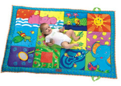 【淘氣寶寶】Tiny Love 超級墊子遊戲毯.攜帶式遊戲墊150CM*100CM