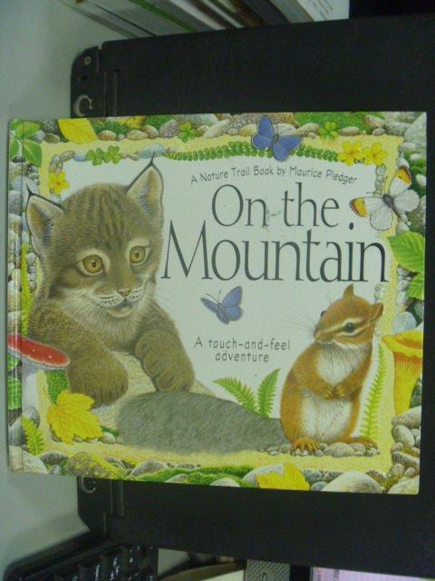【書寶二手書T7/少年童書_JCY】On the Mountain_A. J. Wood