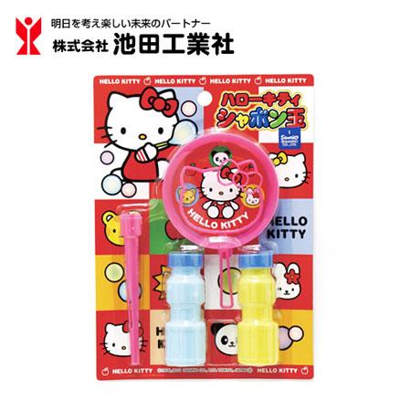 日貨池田 正版kitty吹泡泡玩具 兒童玩具 吹泡泡 泡泡水 凱蒂貓 三麗鷗【N101229】