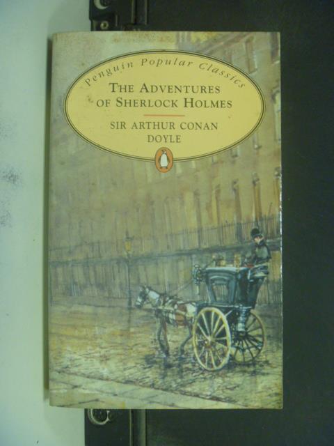 【書寶二手書T1/原文小說_KJA】The Adventures of Sherlock Holmes