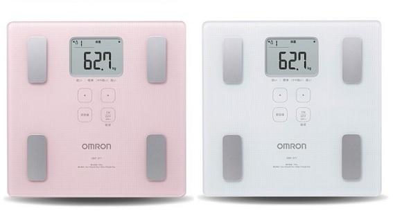OMRON歐姆龍體脂肪機 HBF-217,限量加贈歐姆龍運動毛巾及專用提袋