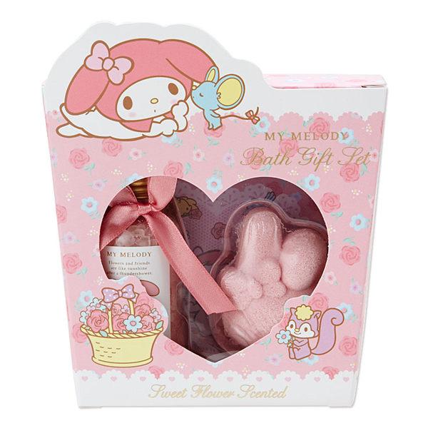 美樂蒂泡澡沐浴劑肥皂禮盒757616海渡