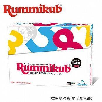 Rummikub拉密數字牌 變臉版(扁形盒包裝) 桌上遊戲 【數學類型.邏輯遊戲】 (音樂影片購)