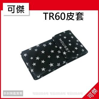 【出清特賣】可傑 自拍神器 相機包  皮套  MOUSSY   黑底白星星圖案款  可裝TR系列