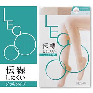 【沙克思】LEGOO伝線防止抗靜電彈性褲襪 特性:伝線防止+抗菌防臭+吸汗加工+靜電防止加工+腳尖透明 (襪子 女襪 絲襪)