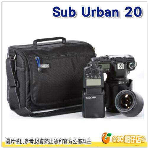 ThinkTank 創意坦克 Sub Urban 20 SU804 黑 城市背包 彩宣公司貨
