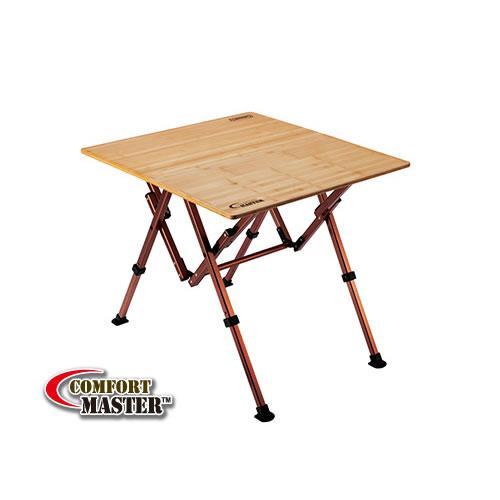 【露營趣】中和 附野餐籃 Coleman  舒適達人休閒竹桌/65 休閒桌 竹板桌 摺桌 摺疊桌 CM-7007J