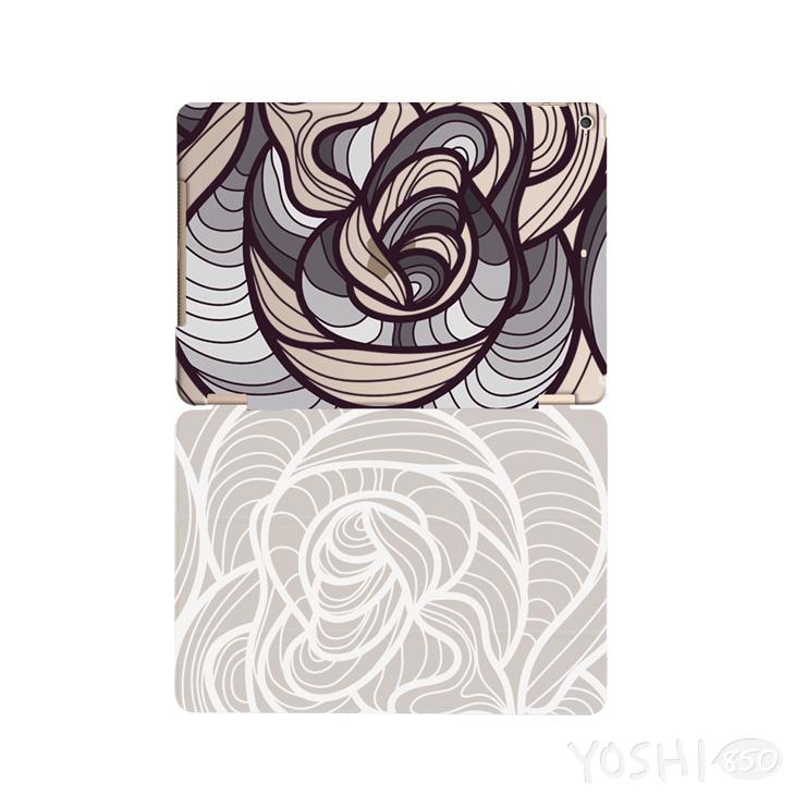 逆轉GO系列- 365好日子 【時間漩渦(灰)】:《iPad Mini/Air/Pro 》水晶殼+Smart Cover(磁桿)
