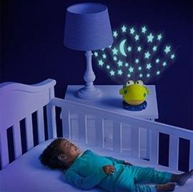 【悅兒樂婦幼用品舘】Bright Starts 小青蛙投射小夜燈